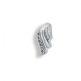 Francine - Сребърна висулка с Цирконий 186004-Сребърни бижута