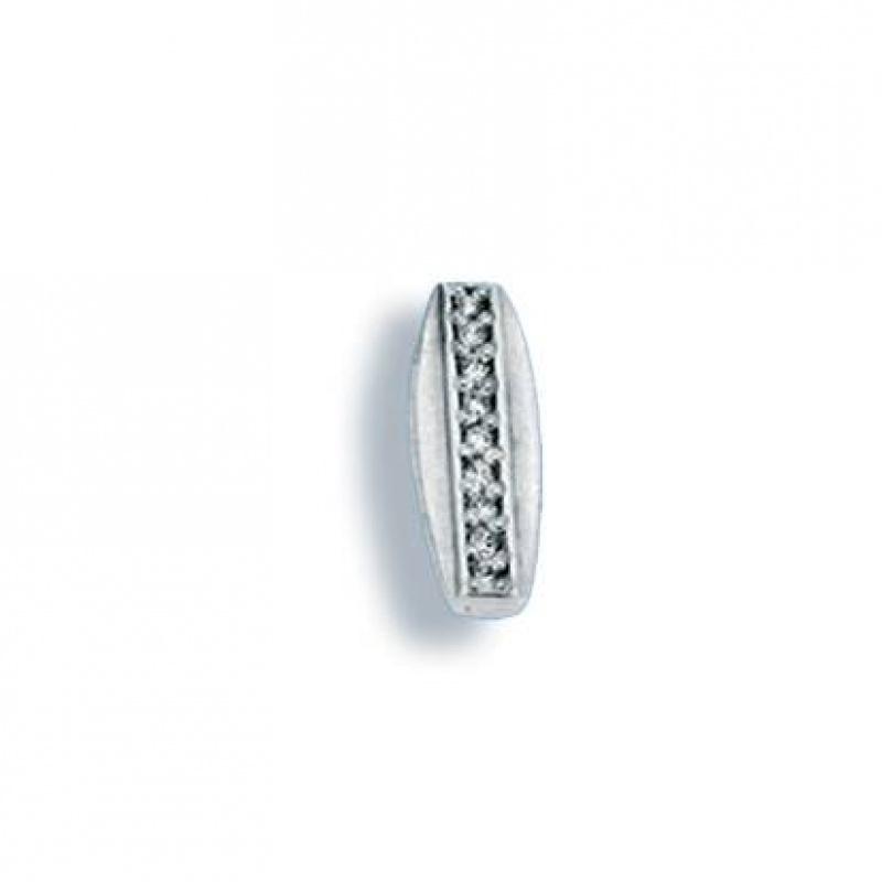 Laverne - Сребърна висулка с Цирконий 186024-Сребърни бижута