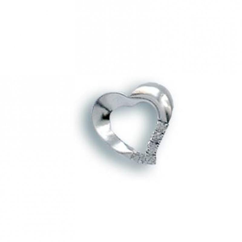 Angelita - Сребърна висулка с Цирконий 186121-Сребърни бижута