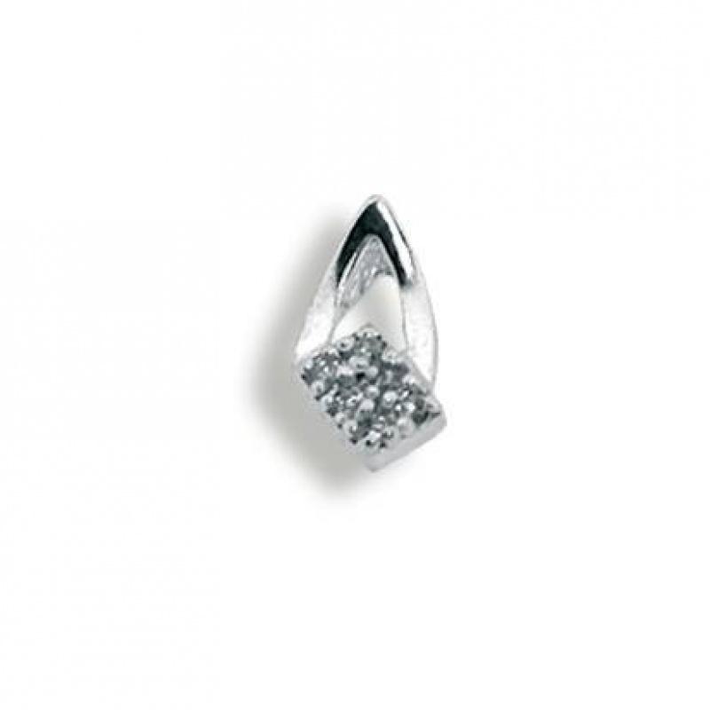 Tabitha - Сребърна висулка с Цирконий 186976-Сребърни бижута