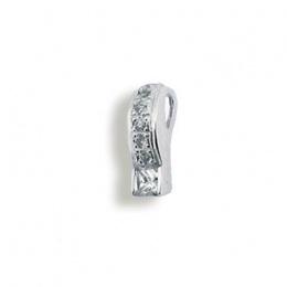Addie - Сребърна висулка с Цирконий 186998-Сребърни бижута