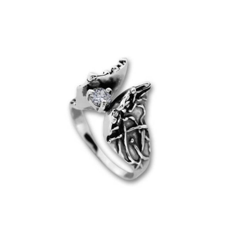 Сребърен пръстен с Камък 1585963-Пръстени