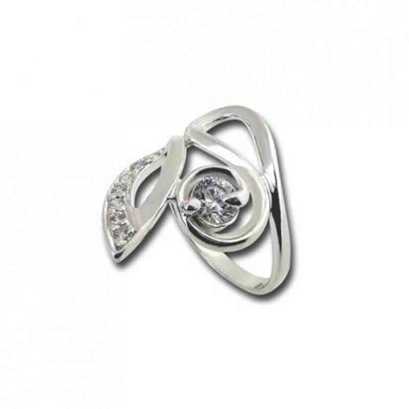 Сребърен пръстен с Камък 1625204-Пръстени