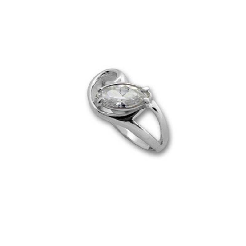 Сребърен пръстен с Камък 1605893-Пръстени