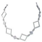 Сребърно колие 700841-Колиета