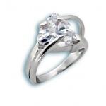 Сребърен пръстен с Камък 1595189-Пръстени