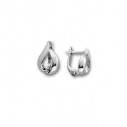Corin - Сребърни обеци без Камък 111494-Сребърни бижута