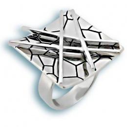 Сребърен пръстен без камък 1515797-Пръстени