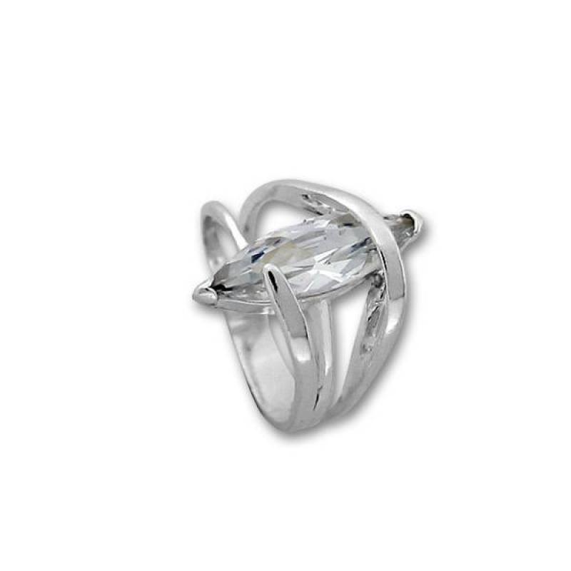 Сребърен пръстен с Камък 1595972-Пръстени