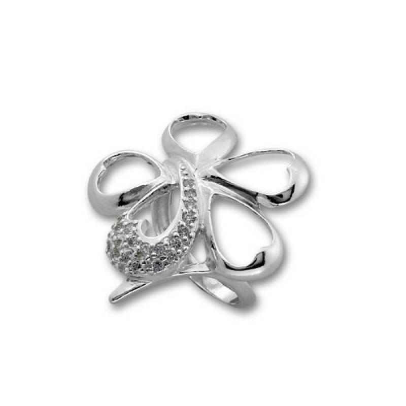 Сребърен пръстен с Камък 1615951-Пръстени
