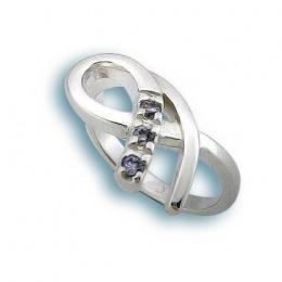Сребърен пръстен с Камък 1625763-Пръстени