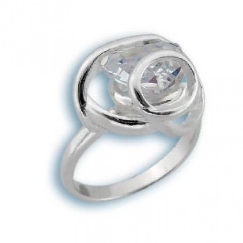 Сребърен пръстен с Камък 1595182-Пръстени
