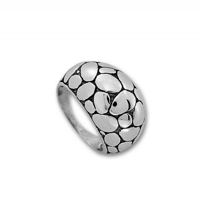 Сребърен пръстен без камък 1535238-Пръстени