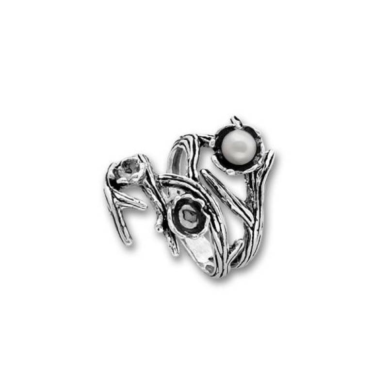 Сребърен пръстен с перла -Пръстени 1705952