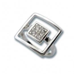 Сребърен пръстен с Камък 1625841-Пръстени