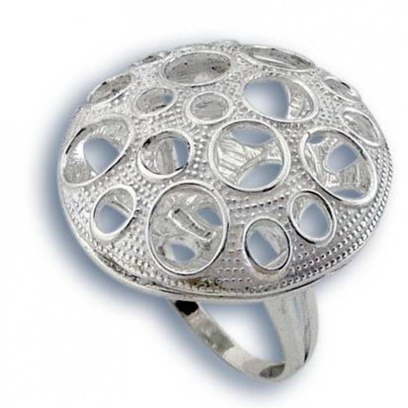Сребърен пръстен без камък 1515793-Пръстени