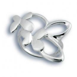 Сребърен пръстен без камък 1545791-Пръстени