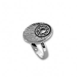 Сребърен пръстен с Камък 1625493-Пръстени