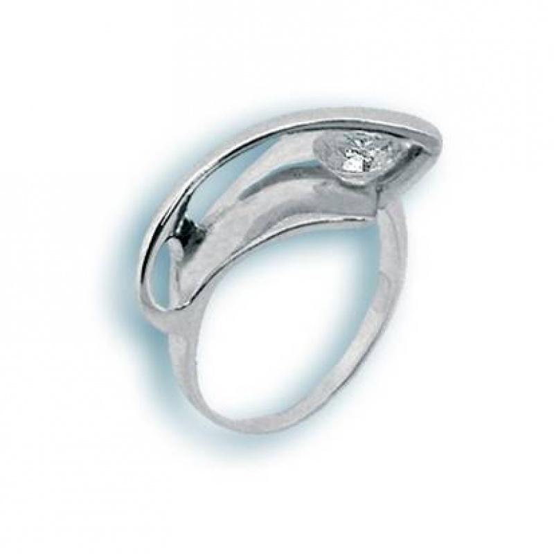 Сребърен пръстен с Камък 1594988-Пръстени