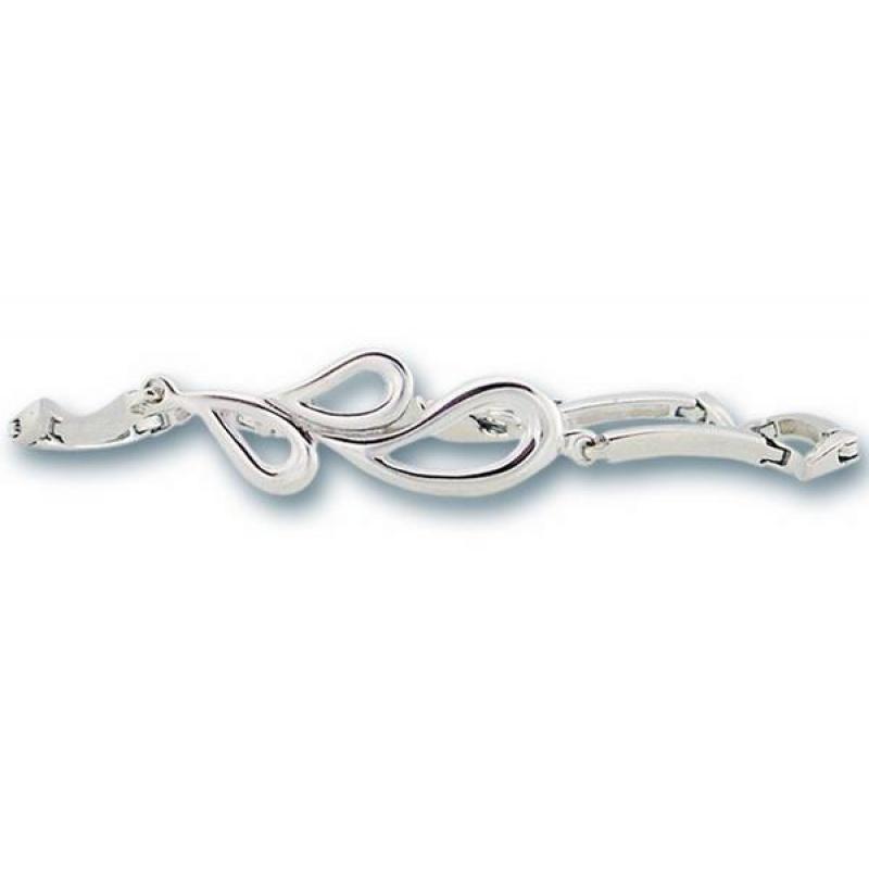 Gale - Сребърна гривна без Камък 200326-Сребърни бижута