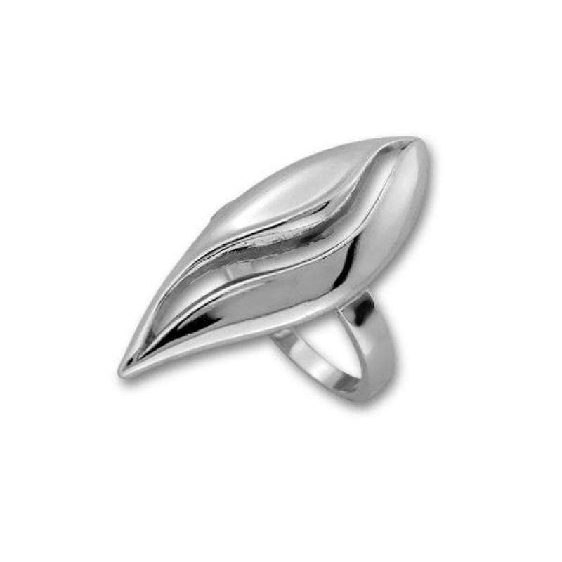 Сребърен пръстен без камък 1545956-Пръстени