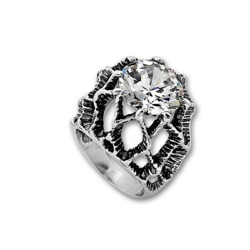 Сребърен пръстен с Камък 1585968-Пръстени