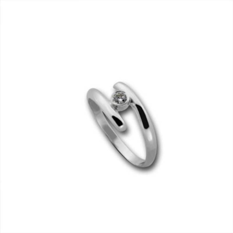 Сребърен пръстен с Камък 1605215-Пръстени