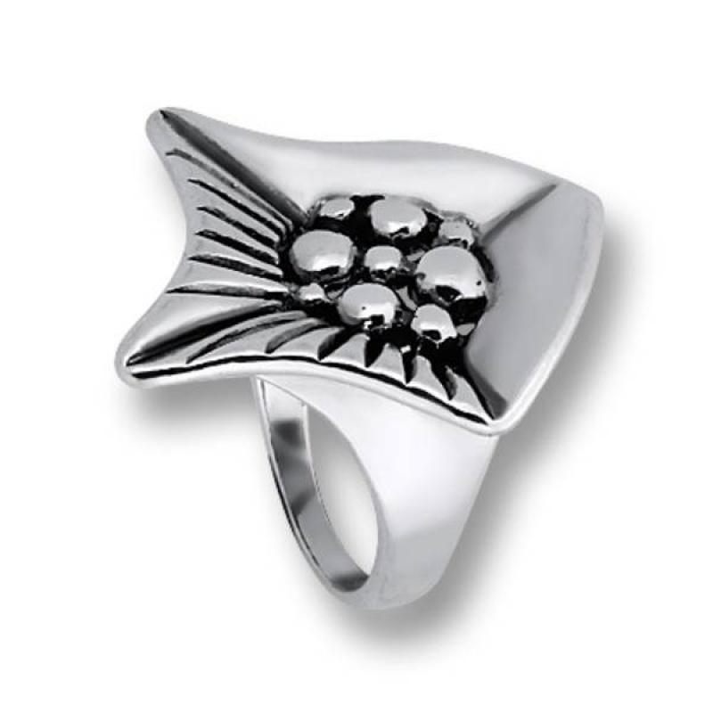 Сребърен пръстен без камък 1535853-Пръстени