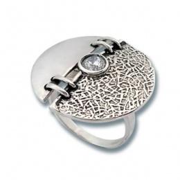 Сребърен пръстен с Камък 1585830-Пръстени