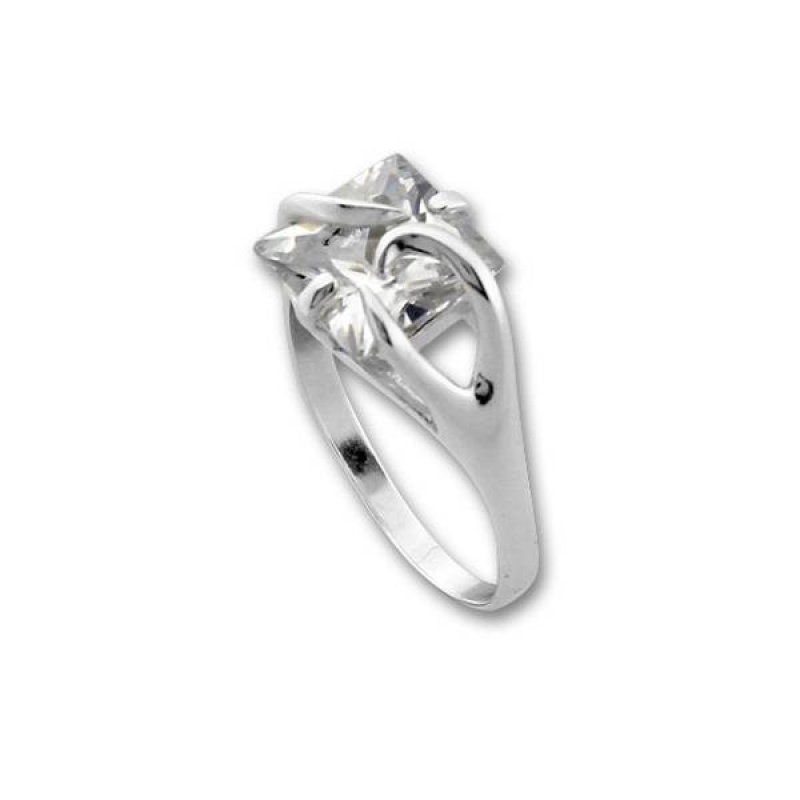 Сребърен пръстен с Камък 1595222-Пръстени