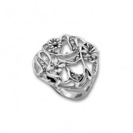 Сребърен пръстен с Камък 1625967-Пръстени