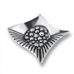 Сребърен медальон без Камък 172853-Медальони