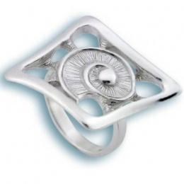 Сребърен пръстен без камък 1515770-Пръстени
