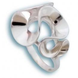 Сребърен пръстен без камък 1535774-Пръстени