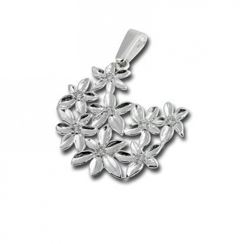 Сребърен медальон без Камък 174379-Медальони
