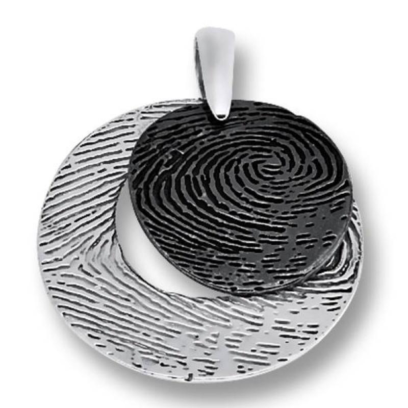 Сребърен медальон без Камък 172852-Медальони