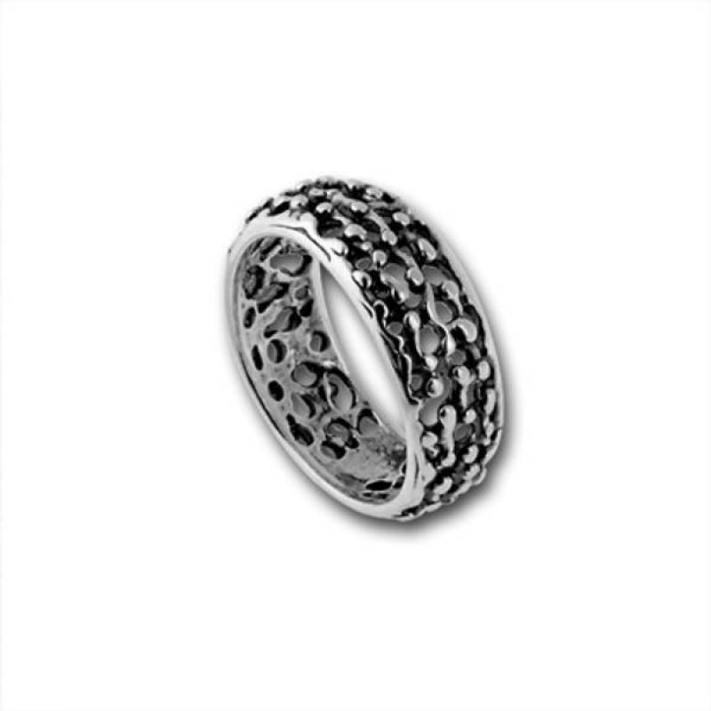 Сребърен пръстен без камък 1545214-Пръстени