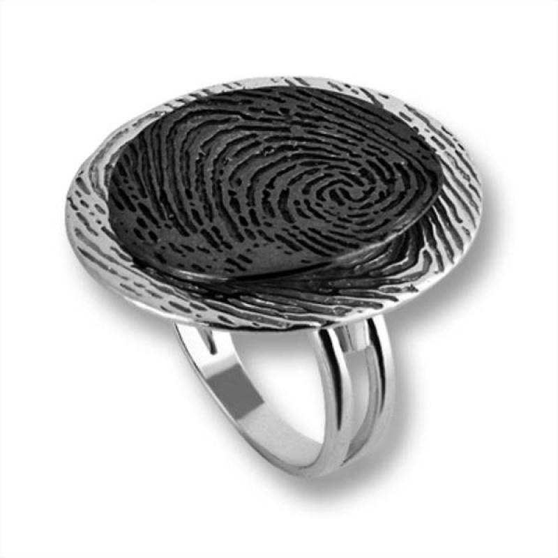 Сребърен пръстен без камък 1535852-Пръстени