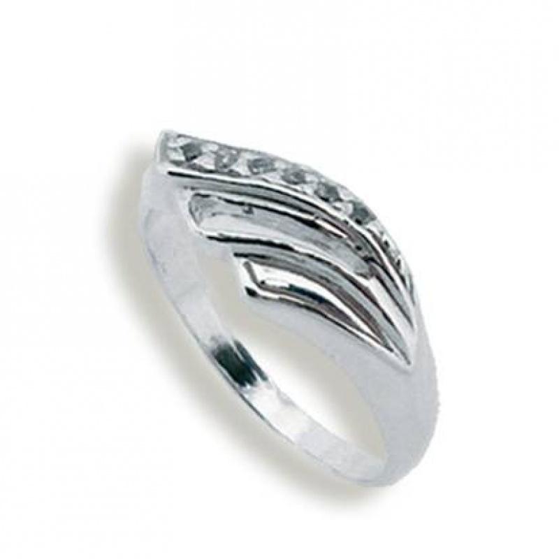 Сребърен пръстен с Камък 1625004-Пръстени
