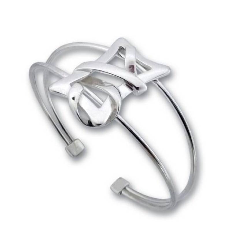 Сребърна гривна 200757-Гривни
