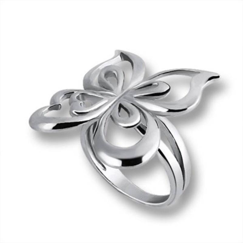 Сребърен пръстен без камък 1535847-Пръстени