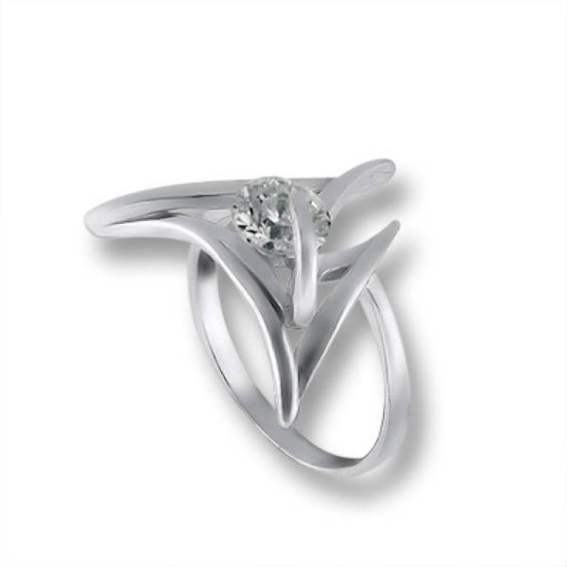Сребърен пръстен с Камък 1605322-Пръстени