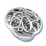 Сребърен пръстен без камък 1515835-Пръстени