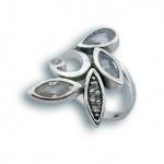 Сребърен пръстен с Камък 1615137-Пръстени