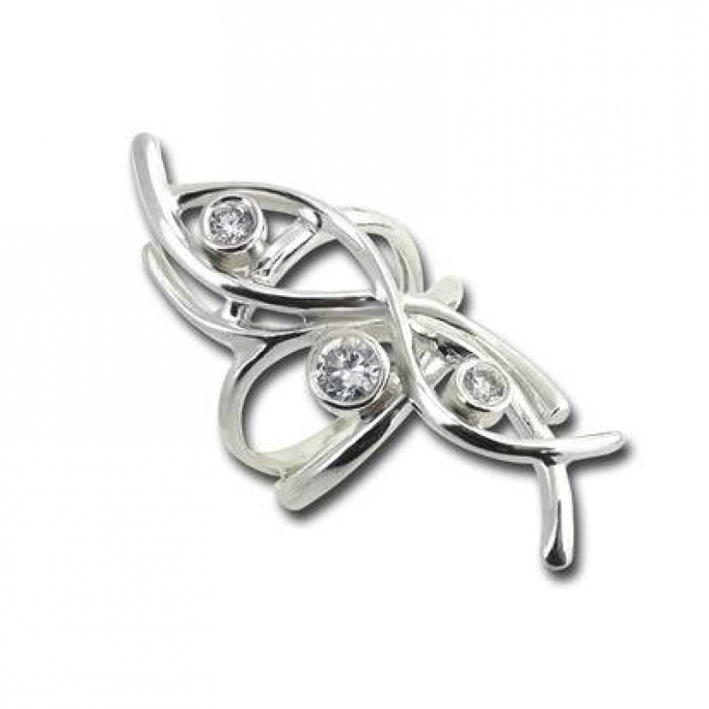 Сребърен пръстен с Камък 1585826-Пръстени