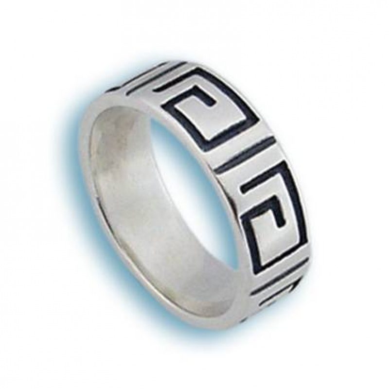 Macyn - Сребърен пръстен без камък 1665746-Сребърни бижута
