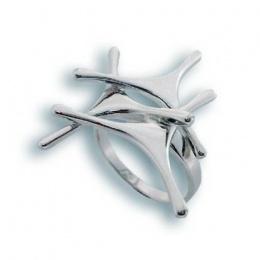 Сребърен пръстен без камък 1545651-Пръстени