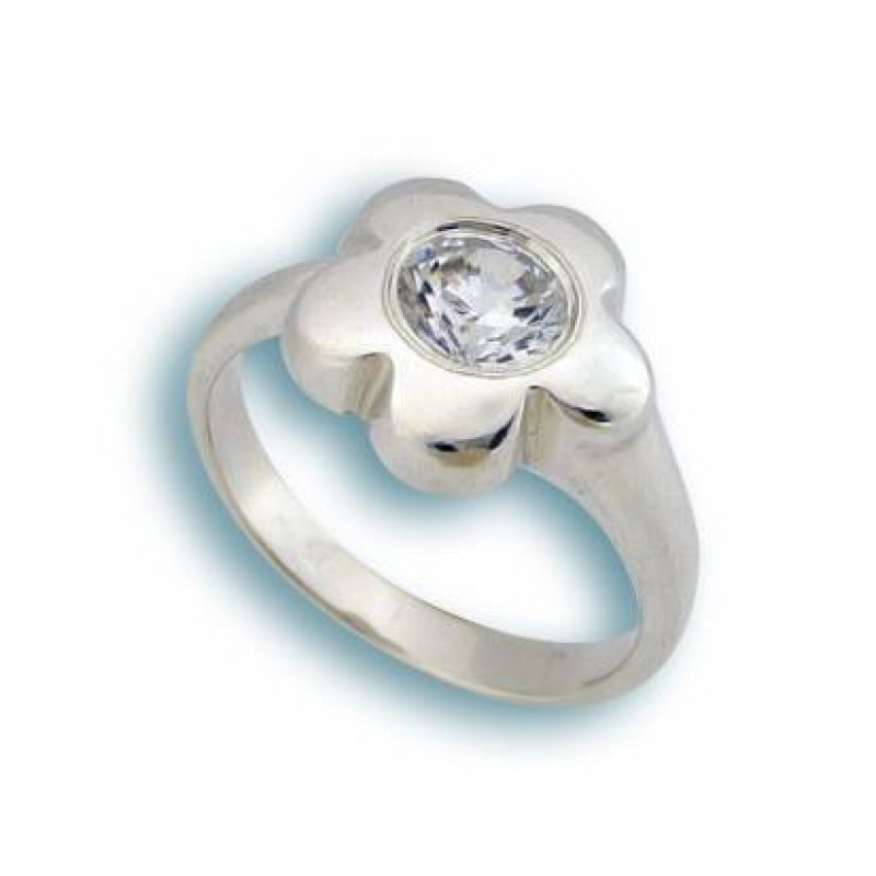Сребърен пръстен с Камък 1595762-Пръстени