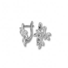 Dollie 2 - Сребърни обеци без Камък 133526-Сребърни бижута