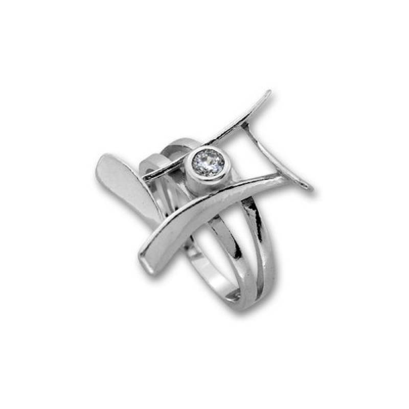 Сребърен пръстен с Камък 1595954-Пръстени